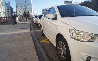 El taxi de A Coruña ya nota el descenso de clientes por el Covid-19